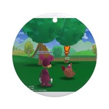 Toontown Ornament (Round)