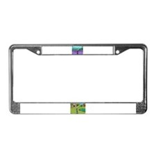 Toontown License Plate Frame