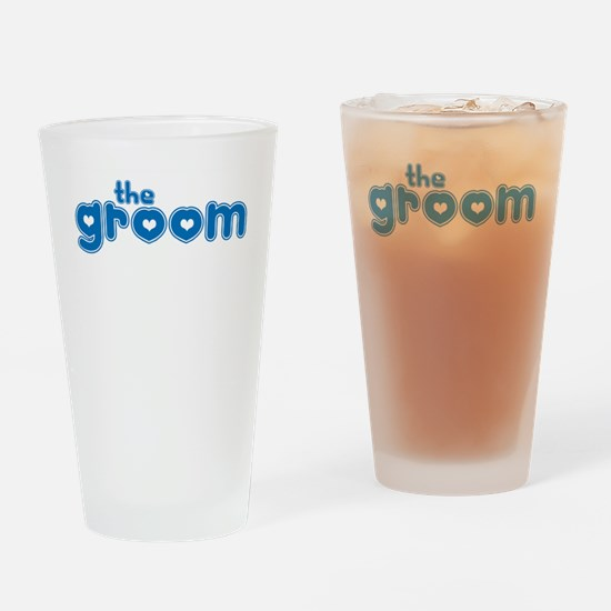 The Groom Drinking Glass