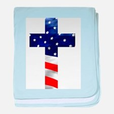One nation under God baby blanket