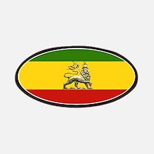 Rasta Ethiopian Lion Patches