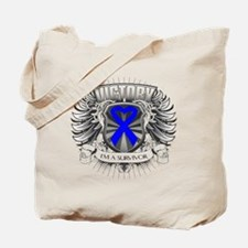 Anal Cancer Victory Tote Bag