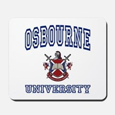 OSBOURNE University Mousepad