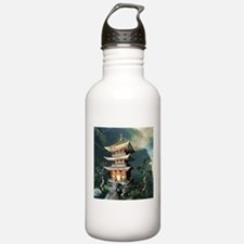 Asian Temple Water Bottle