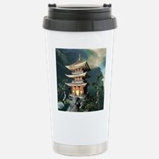 Asian Temple Travel Mug