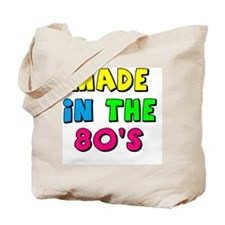Cute Made in the 80s Tote Bag