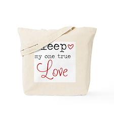 Cute Bed Tote Bag