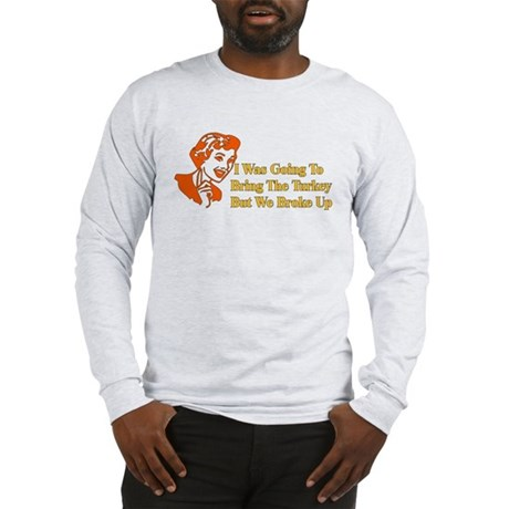 Retro thanksgiving humor long sleeve t shirt for Retro long sleeve t shirts