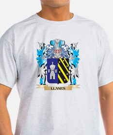 Llanes Coat of Arms - Family Crest T-Shirt