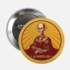 "La Muerta Lisa 2.25"" Button"