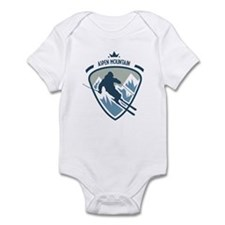 Aspen Mountain Infant Bodysuit