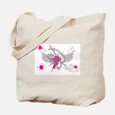 Skull with wings style 1 Tote Bag