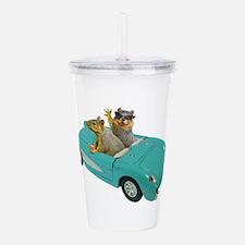Squirrels Car Acrylic Double-wall Tumbler
