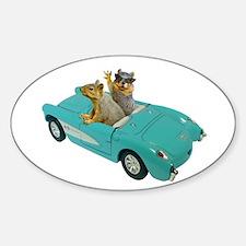 Squirrels Car Decal