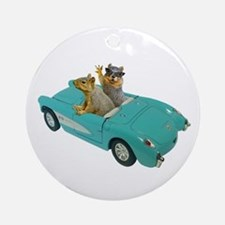 Squirrels Car Ornament (Round)