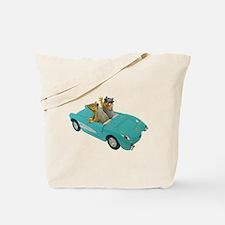 Squirrels Car Tote Bag