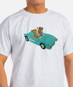 Squirrels Car T-Shirt