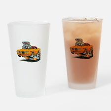 GTO DRAG CAR Drinking Glass