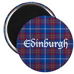 Tartan - Edinburgh dist. Magnet