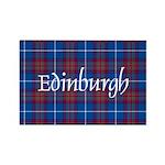 Tartan - Edinburgh dist. Rectangle Magnet