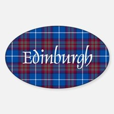 Tartan - Edinburgh dist. Decal