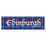 Tartan - Edinburgh dist. Sticker (Bumper)
