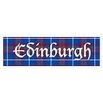 Tartan - Edinburgh dist. Sticker (Bumper 10 pk)