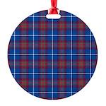 Tartan - Edinburgh dist. Round Ornament
