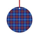 Tartan - Edinburgh dist. Ornament (Round)