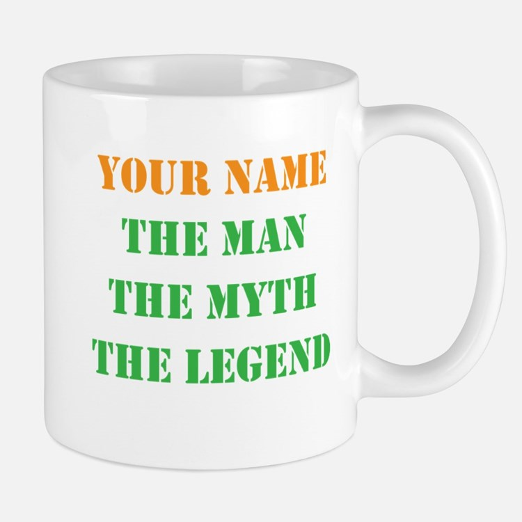 LEGEND - Your Name Mugs