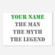 LEGEND - Your Name Postcards (Package of 8)