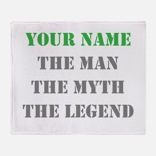 LEGEND - Your Name Throw Blanket