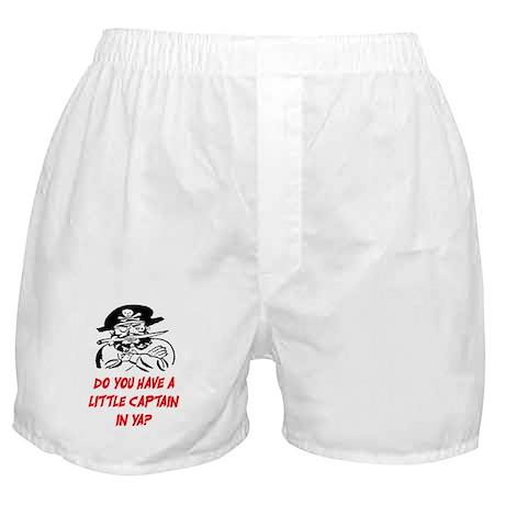 GOT A LITTLE CAPTAIN IN YA? Boxer Shorts