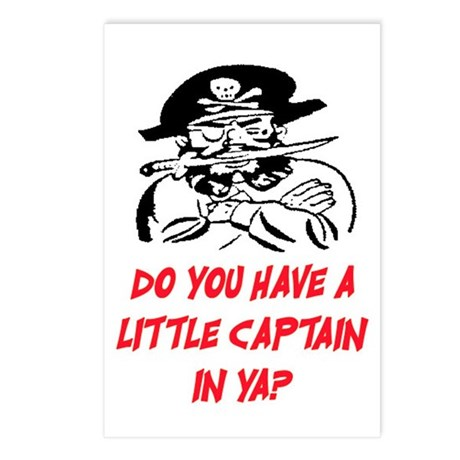 GOT A LITTLE CAPTAIN IN YA? Postcards (Package of