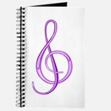 Treble Clef Journal (Grape)