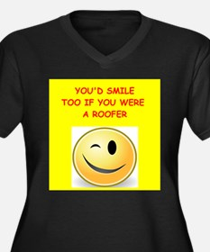 roofer Plus Size T-Shirt