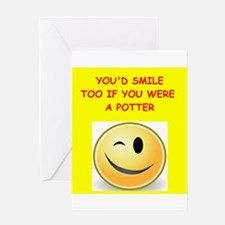 potter Greeting Cards