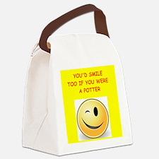 potter Canvas Lunch Bag