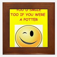 potter Framed Tile