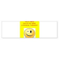 physical therapy Bumper Bumper Sticker