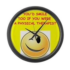 physical therapy Large Wall Clock