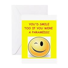 paramedic Greeting Cards