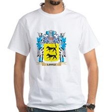 Lopez Coat of Arms - Family Cres T-Shirt