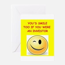 investor Greeting Cards