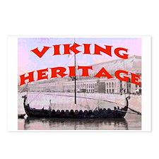 VIKING HERITAGE Postcards (Package of 8)