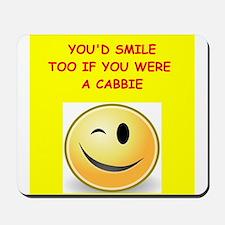 cabbie Mousepad