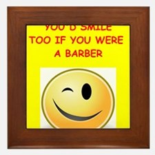 barber Framed Tile