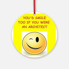 architect Ornament (Round)