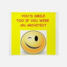 architect Throw Blanket