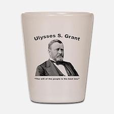 Grant: People Shot Glass